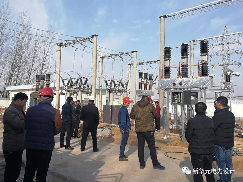 平顶山鲁山县前城35kV变电站2号主变扩建